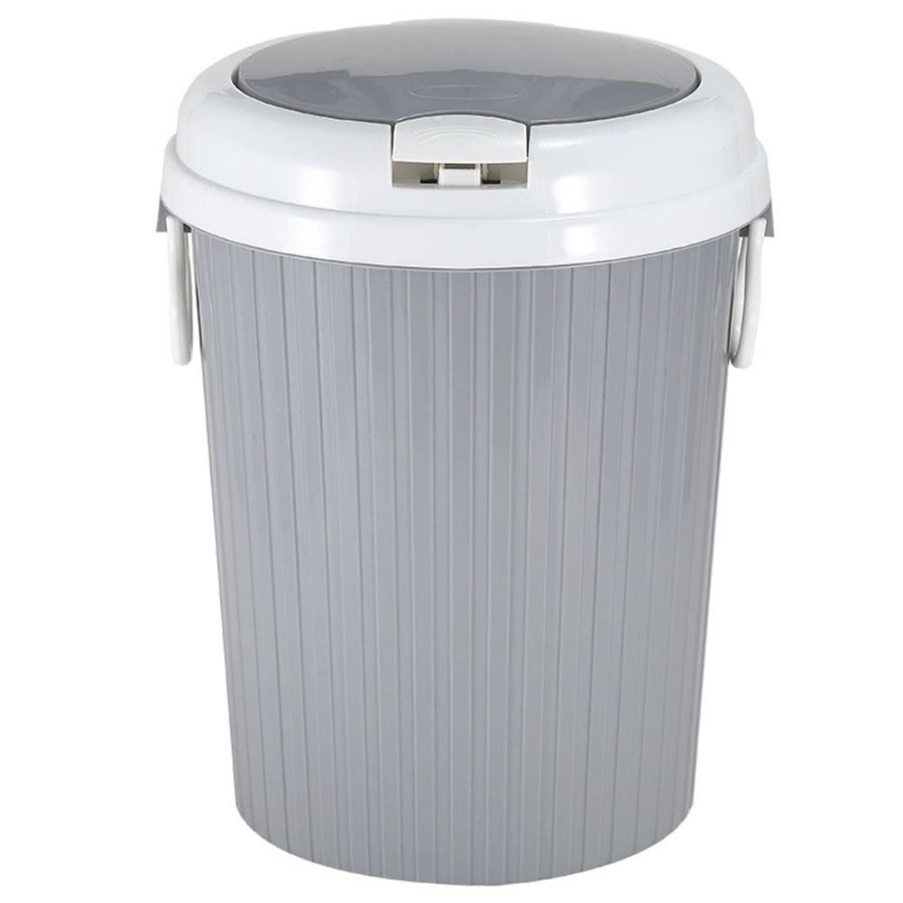 portable trash can garbage bin swing lid home bathroom kitchen waste basket ebay. Black Bedroom Furniture Sets. Home Design Ideas