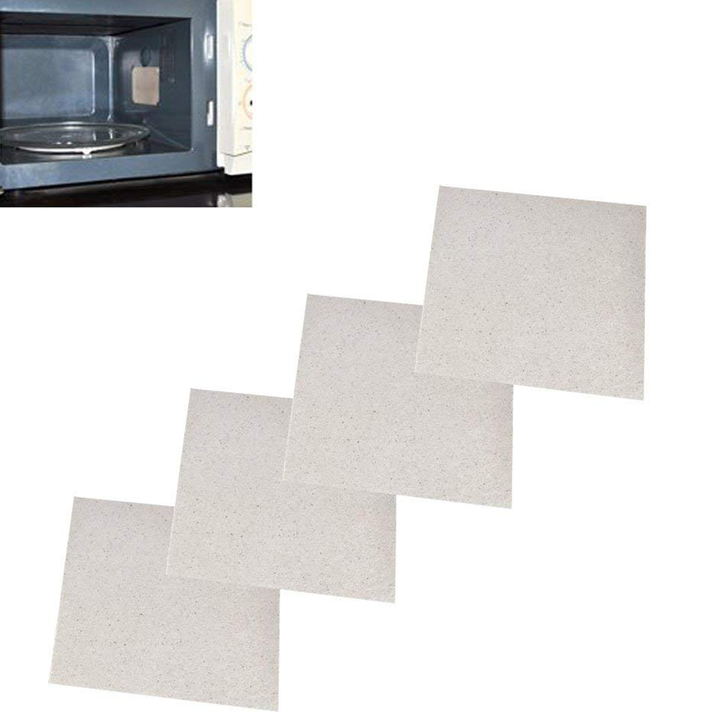 Details About 4 Pcs 13x13cm Thicken Insulation Mica Sheets Plate For Microwave Oven Repairing