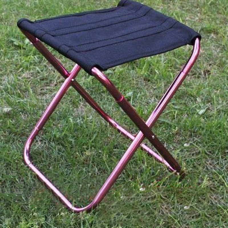 Mini Folding Chair Portable Seat Stool With Storage Bag for Outdoor ...