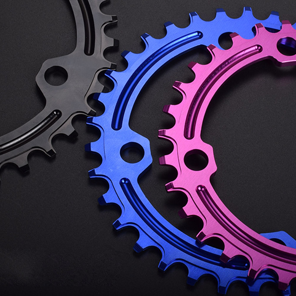 96BCD Positive and Negative Gear Plate Bike Single-speed Disc/Oval Modified Tooth Plate