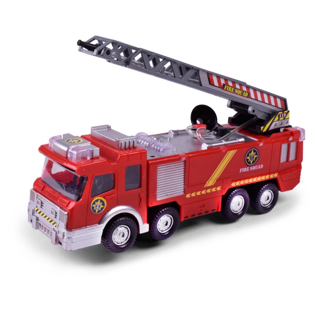Simulation-Mini-Fire-Truck-Modell-mit-Omnibearing-Schwenkrohr-Kinder-Cartoon