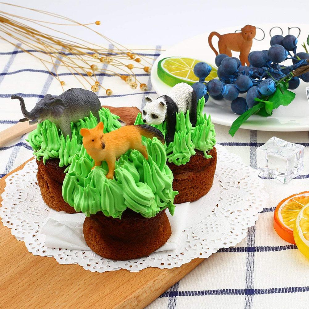 Tierfiguren 53 Stücke Mini-Spielzeug Geschenkset Dschungel-Tieren Tierwelt DE