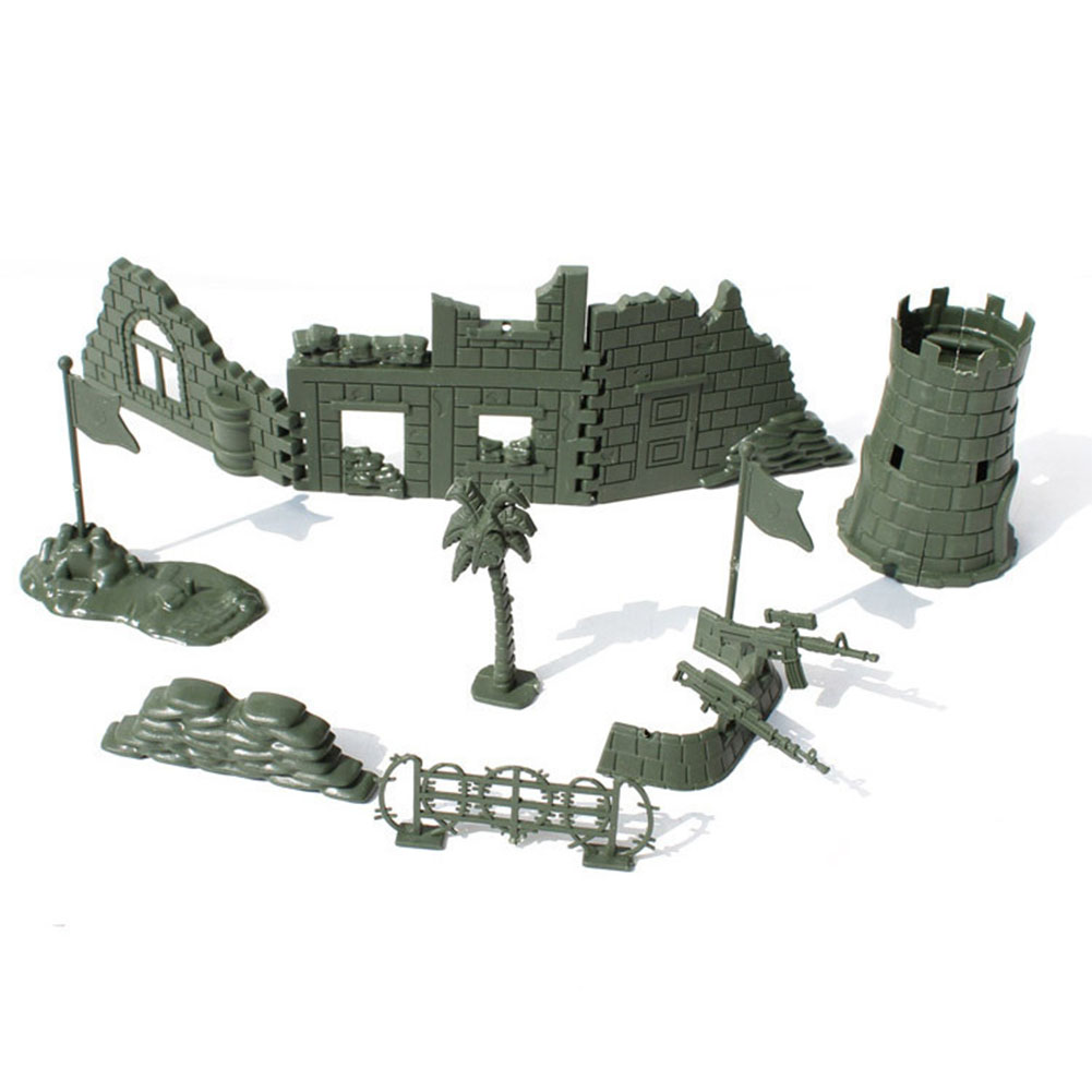 Toys & Hobbies Supply 337pcs/set 4cm Soldiers Military Plastic Army Men Figures Gift Toy Toy Model Action Figure Sandbox Games Toys For Children Boys