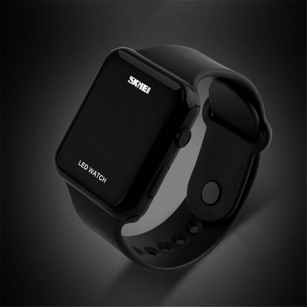 digital silikon led armband uhr armbanduhr watch kinder. Black Bedroom Furniture Sets. Home Design Ideas