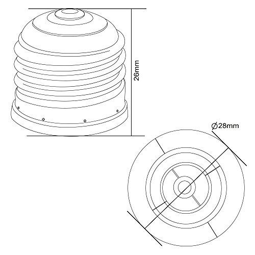E27 To E12 Adapter Converter Screw Light Bulb Lamp Base
