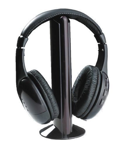 kabellose kopfh rer stereo headphone ohrpolster f r mp3 pc. Black Bedroom Furniture Sets. Home Design Ideas