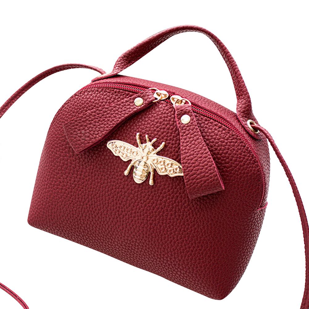Women Small Cross Over Body Bag Shoulder Bee Handbag Purse Messenger Bags New