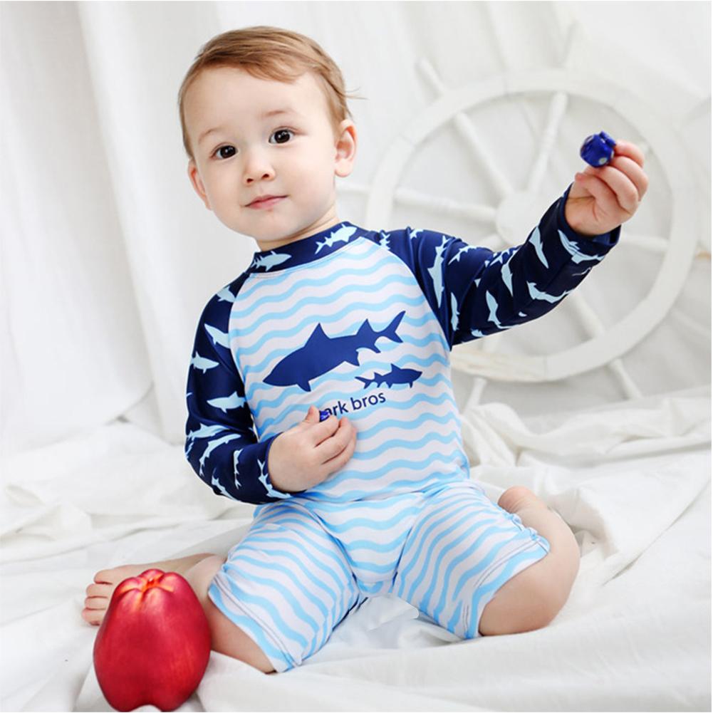 29ea242a2b065 Children Boy One-piece Cute Cartoon Pattern Swimsuit Bathing Suit | eBay