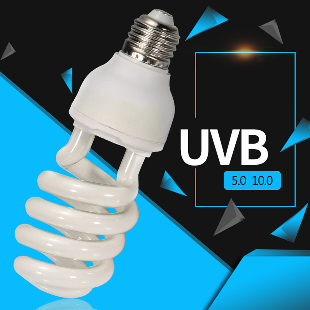13-26W-Pet-Reptile-UV-Lamp-UVB-5-0-10-0-Light-Bulb-Calcium-for-Lizard-Terrarium thumbnail 13